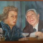 Nunzio Sciavarrello Autoritratto con la moglie