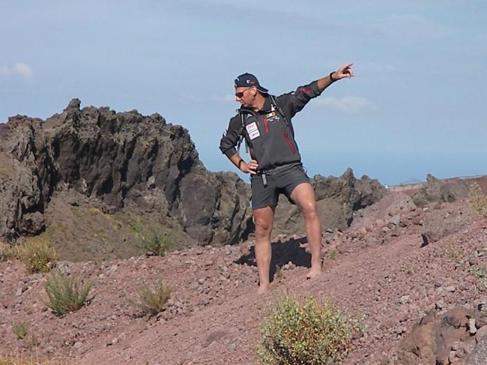 Tom Perry l'alpinista scalzo