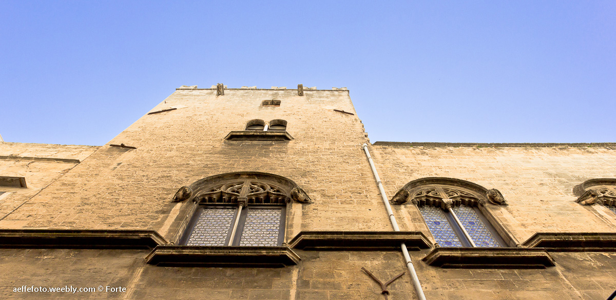 Prospetto esterno Palazzo Alliata di Pietratagliata