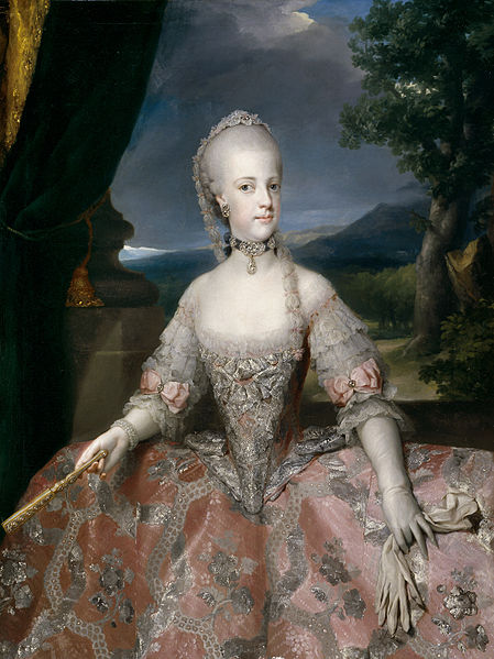 La regina Maria Carolina