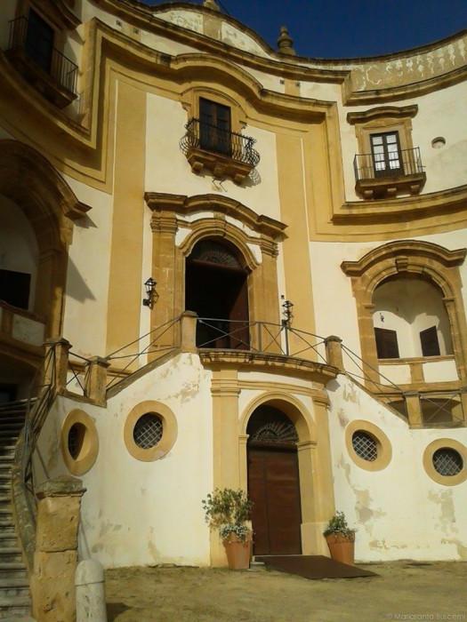 Ingresso del Museo Renato Guttuso - Villa Cattolica