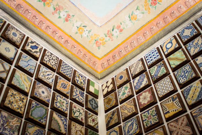 affreschi e maioliche