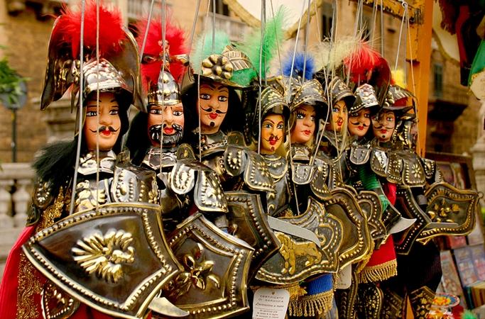 I 10 siti UNESCO della Sicilia: come patrimonio immateriale l'Opera dei Pupi