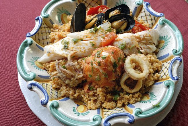 cous cous Trapani style