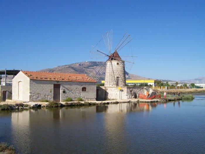 Stagnone Lagoon