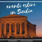 eventi estivi in sicilia