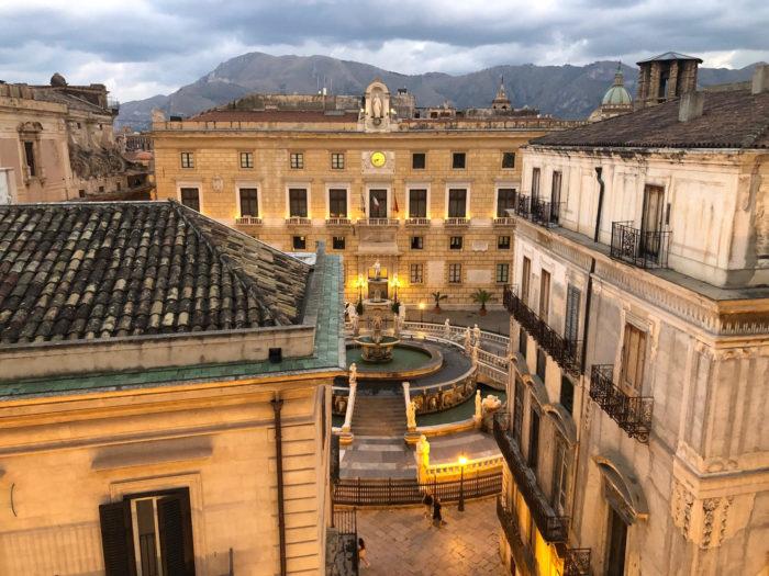 tourist in Palermo