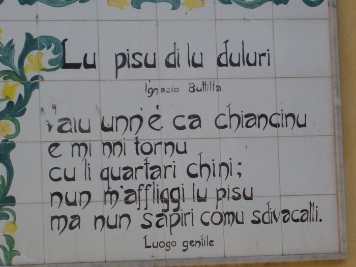 Sicilian common sayings