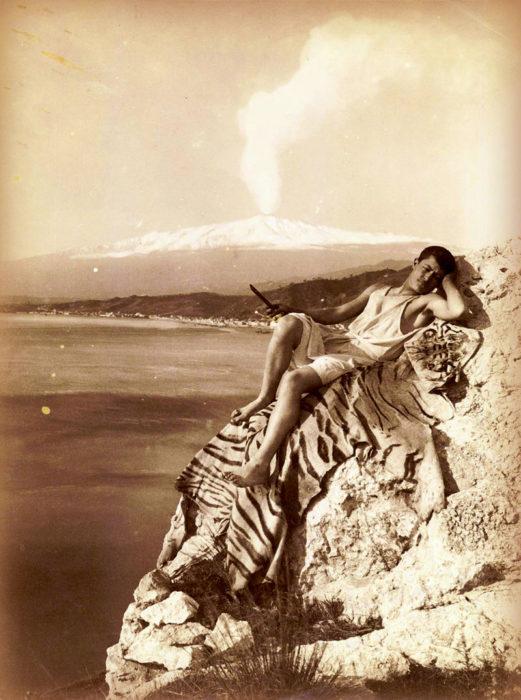 """Le sue foto divennero """"immagini per il turismo""""."""