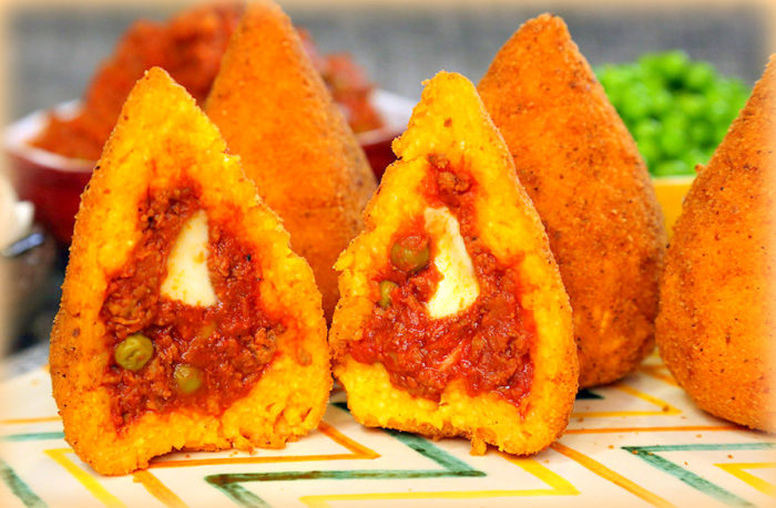 arancino siciliano al ragù la vera ricetta