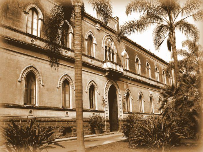 l'Istituto dei Ciechi di Catania a metà del novecento.