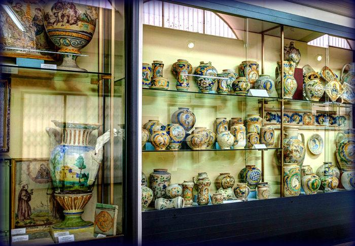 museo della ceramica di caltagirone del parco archeologico paesaggistico di catania