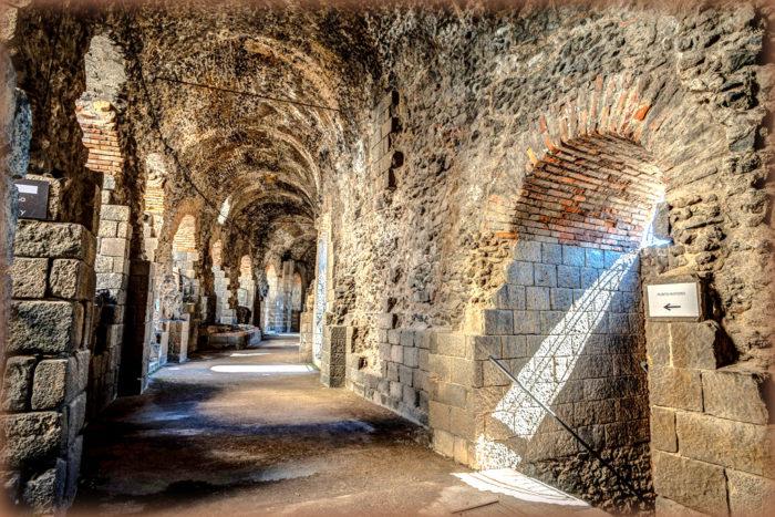 teatro antico di catania del parco archeologico paesaggistico di catania
