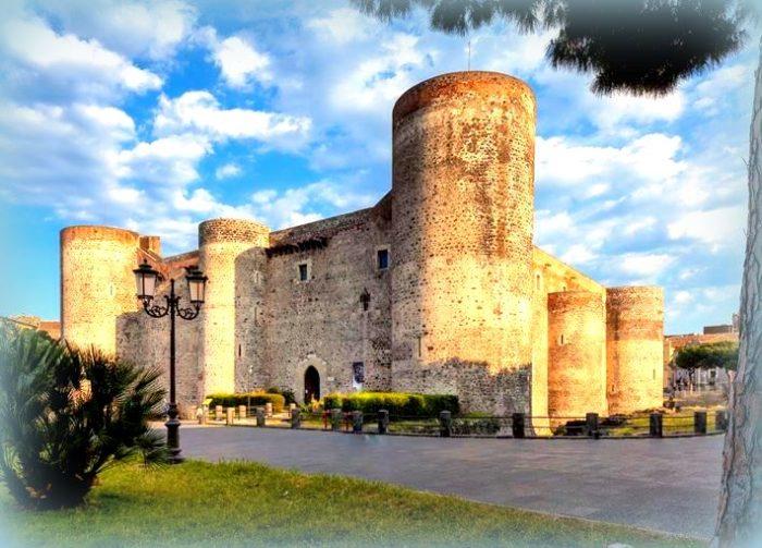Il Castello Ursino a Catania: il muto testimone dell'incontro con Stefania Craxi