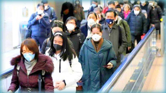 covid-19 pandemia che andrà via... in cina tutti con le mascherine