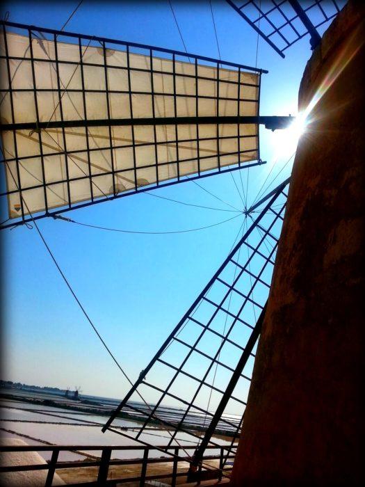 diario del nostro viaggio in Sicilia: mare sole e vento nelle saline