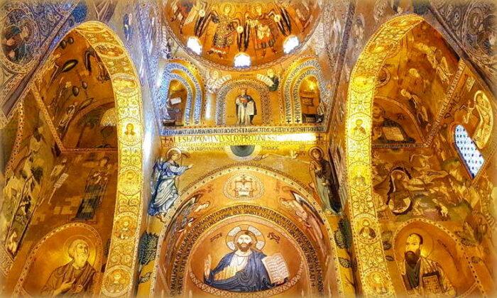 la cappella palatina e i suoi mosaici