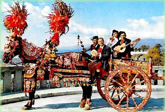 il carretto siciliano è un simbolo della sicilia