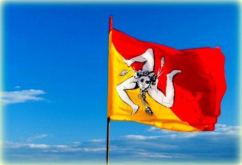 scopriamo il simbolo della sicilia presente anche nella bandiera