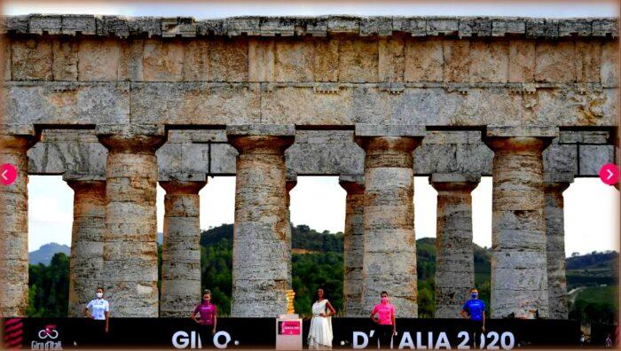 Il Giro d'Italia 2020 riparte dalla Sicilia: cerimonia ad agrigento
