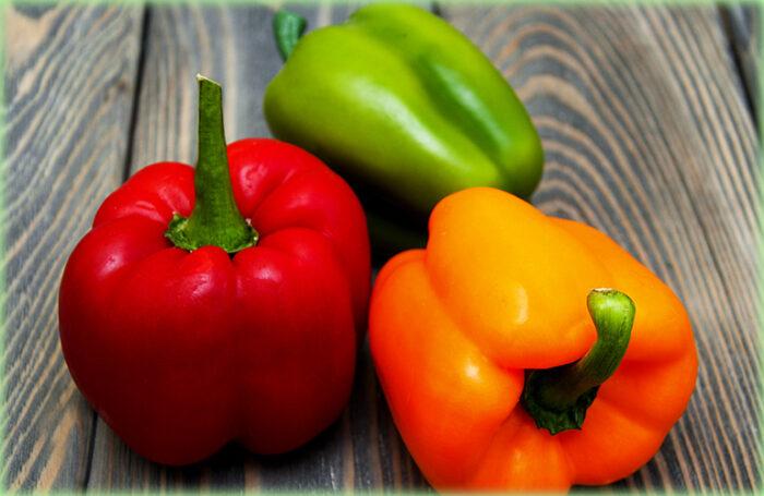 peperoni ammollicati una ricetta dalla sicilia: i peperoni dei tre colori