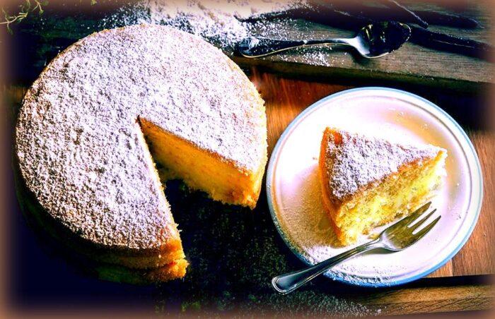 una storia di natale in sicilia: c'era una volta un pan di spagna