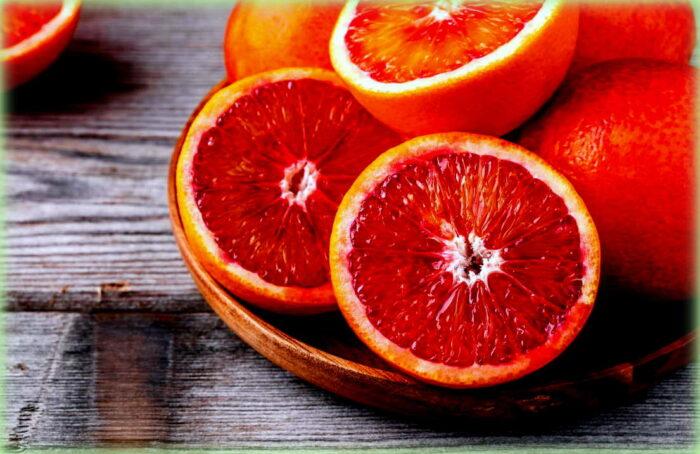 insalata di arance: le arance rosse di sicilia