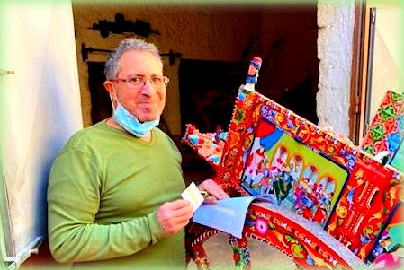 il pittore siciliano roberto caputo