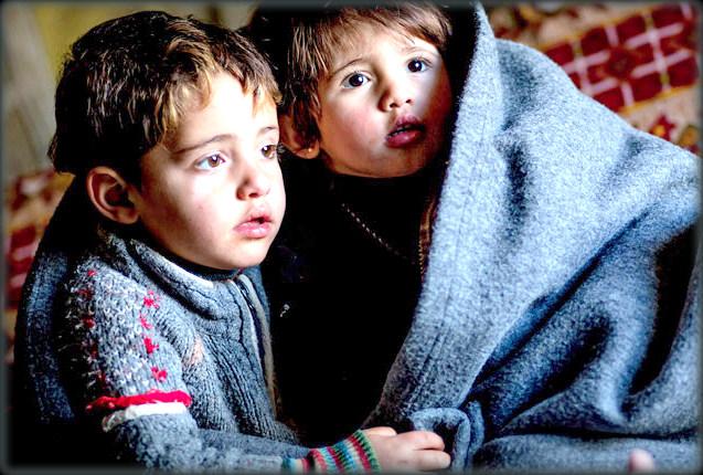 in fuga dal presepe: un natale diverso... i bambini di aleppo