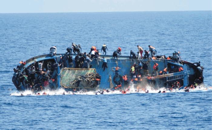 in fuga dal presepe: un natale diverso... un naufragio di migranti