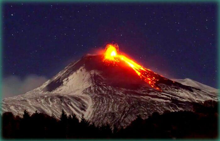 etna la montagna di fuoco