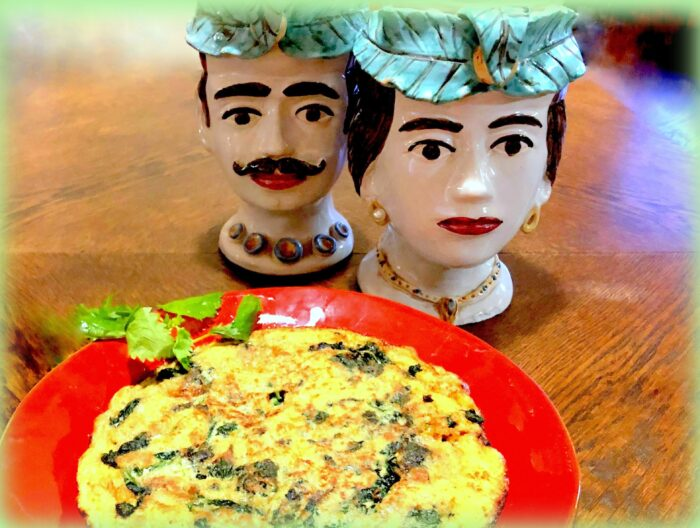 frittata con l'ortica: una ricetta dalla sicilia foto di saverio garufi