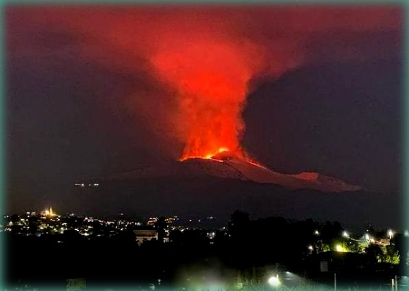 etna eruzione febbraio 2021