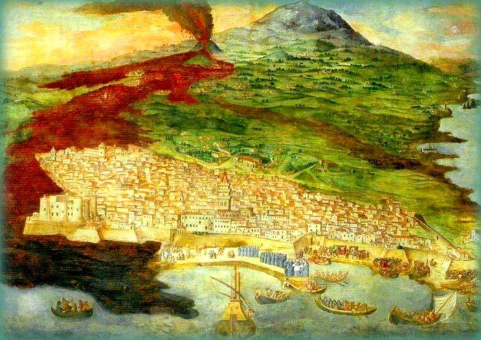 etna la montagna di fuoco: eruzione del 1669