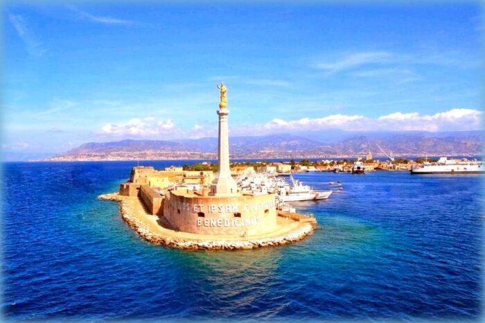 10 meraviglie da vedere a messina: madonnina del porto