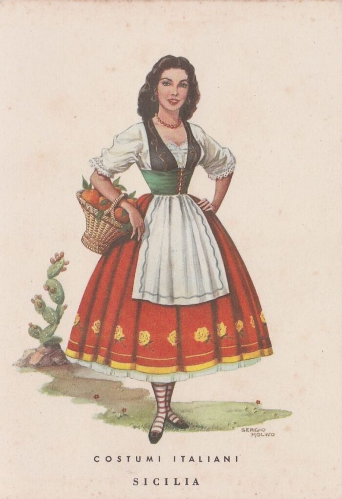 Sicilian traditional clothing