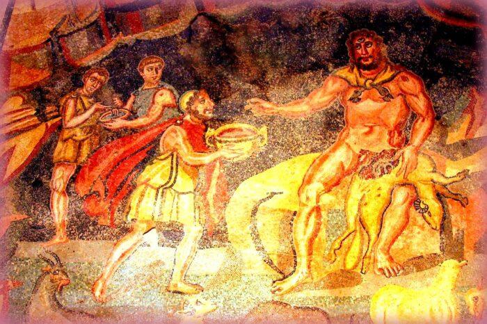 etna è... la terra dei racconti: ulisse e polifemo