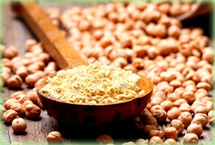 pane e panelle una ricetta dalla sicilia: farina di ceci