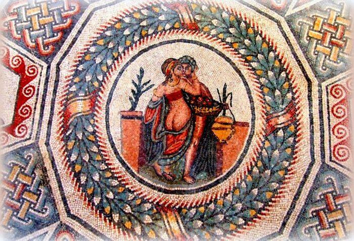 mosaici di villa del casale