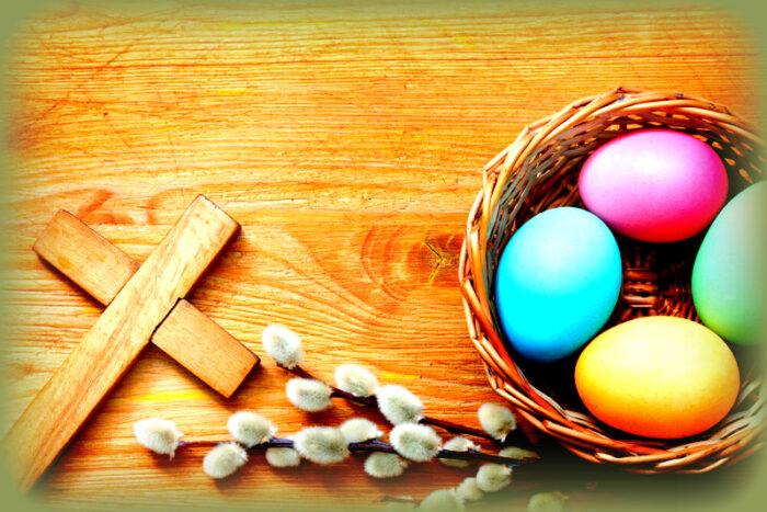 l'uovo è il simbolo della pasqua