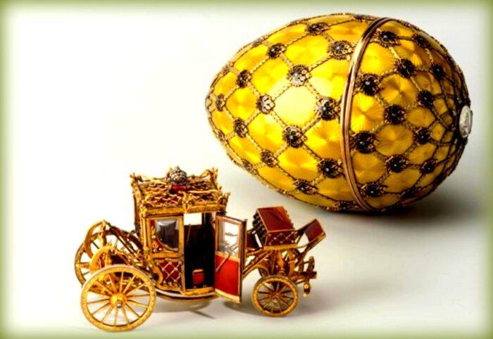 uovo simbolo della pasqua: uovo di fabergè