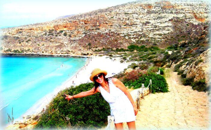 Isole Pelagie e Egadi: l'Estate 2021 in Sicilia è liberi di viaggiare! Enza Lo Faro a Lampedusa