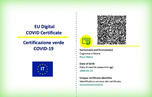 Green Pass EU è il Certificato Verde: esiste il formato digitale e quello cartaceo