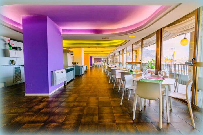 il ristorante e il bar sono delle eccellenze per l'hotel ibis palermo president