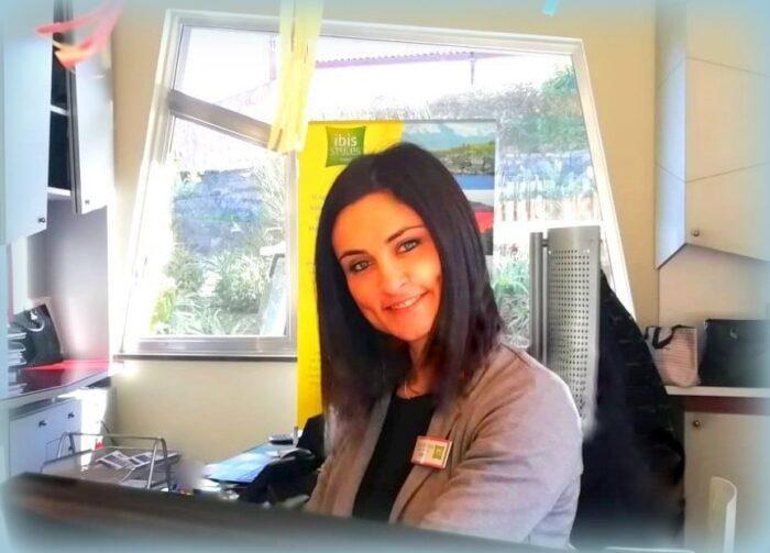 Valentina Fichera manager dell'Hotel Ibis Catania Acireale